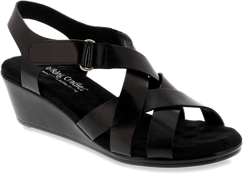 Women's Walking Cradles, Newton Mid wedge Heel Sandals