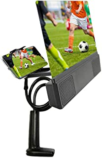 Mobile Phone HD Projection 12 Inch Screen Magnifier Bracket Enlarge with Speaker