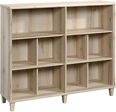 """Sauder Willow Place Bookcase, L: 53.15"""" x W: 14.37"""" x H: 45.278"""", Pacific Maple Finish"""