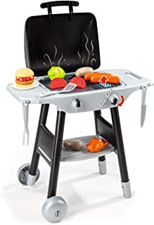 Smoby Smoby Roleplay BBQ Plancha Grill with 16-piece accessory set, Black Playset