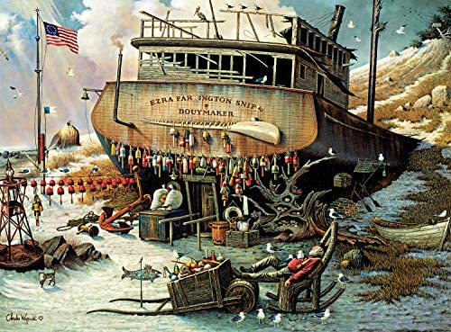 Buffalo Games Charles Wysocki Where The Buoys are 1000 Piece Jigsaw Puzzle product image