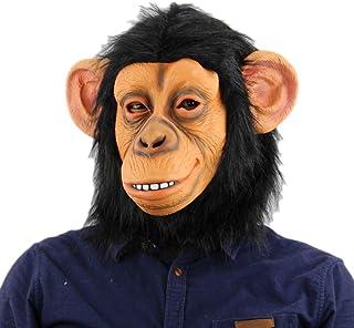 Ragazzi Ragazze Marrone Scimmia Scimpanzè Scimmia ZOO Animale Costume Completo da giorno LIBRO