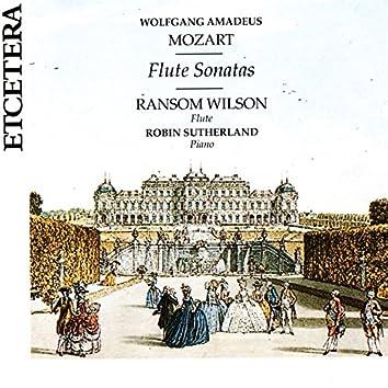 Wolfgang Amadeus Mozart, Flute Sonatas