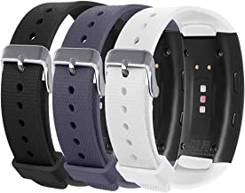 Compatible Samsung Gear Fit 2 Pro/Fit 2 Band, NaHai Silicone Replacement Strap for Samsung Gear Fit2 and Fit2 Pro