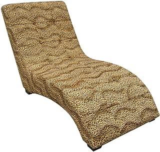 ORE International A Modern Chaise, Leopard