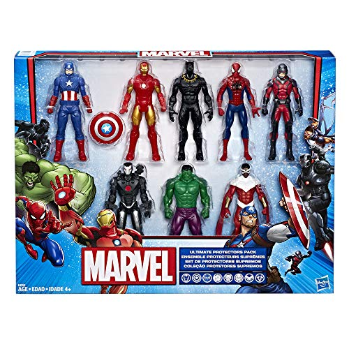 Marvel Avengers Action Figures - Iron Man, Hulk, Black Panther,...