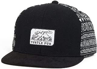 Turtle Fur The Traveler Snapback Suede Brim Ballcap