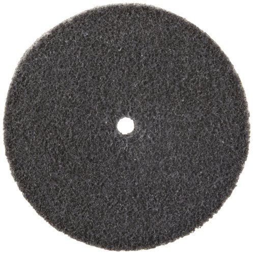 3M Scotch-Brite XL-UW Unitized Silicon Carbide Soft Deburring Wheel - Fine Grade - Arbor Attachment - 3 in Dia 1/4 in Center Hole - Thickness 3/4 in - 10000 Max RPM - 13718 [PRICE is per WHEEL]