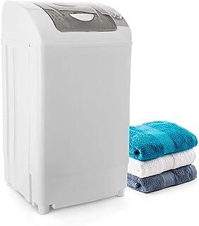 Oneconcept Top Spin White Edition - Centrifugadora Mini, Capacidad de 3,8 kg, 60 W, Temporizador de 0 a 5 Minutos, Motor d...
