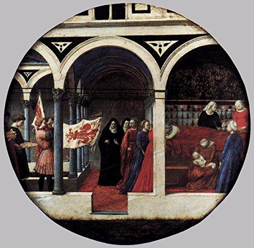 Gifts Delight Laminated 17x16 Poster: Tommaso Masaccio - Plate of Nativity Berlin Tondo