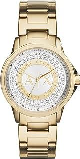 Armani Exchange Women's AX4321 Gold Watch