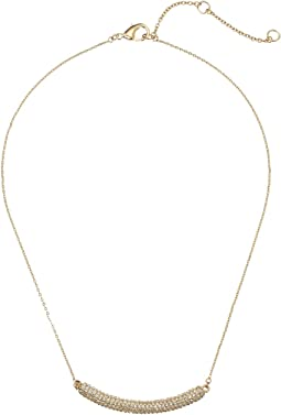 Pave Bar Swarovski Necklace