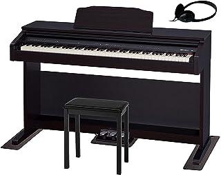 【お持ちの電子ピアノ引取り料&配送組立設置料込み】Roland ローランド DigitalPiano 電子ピアノ 88鍵盤 RP30 (高さ固定椅子BNC-11BKセット, ❹防音防震マット&延長5年保証セット)