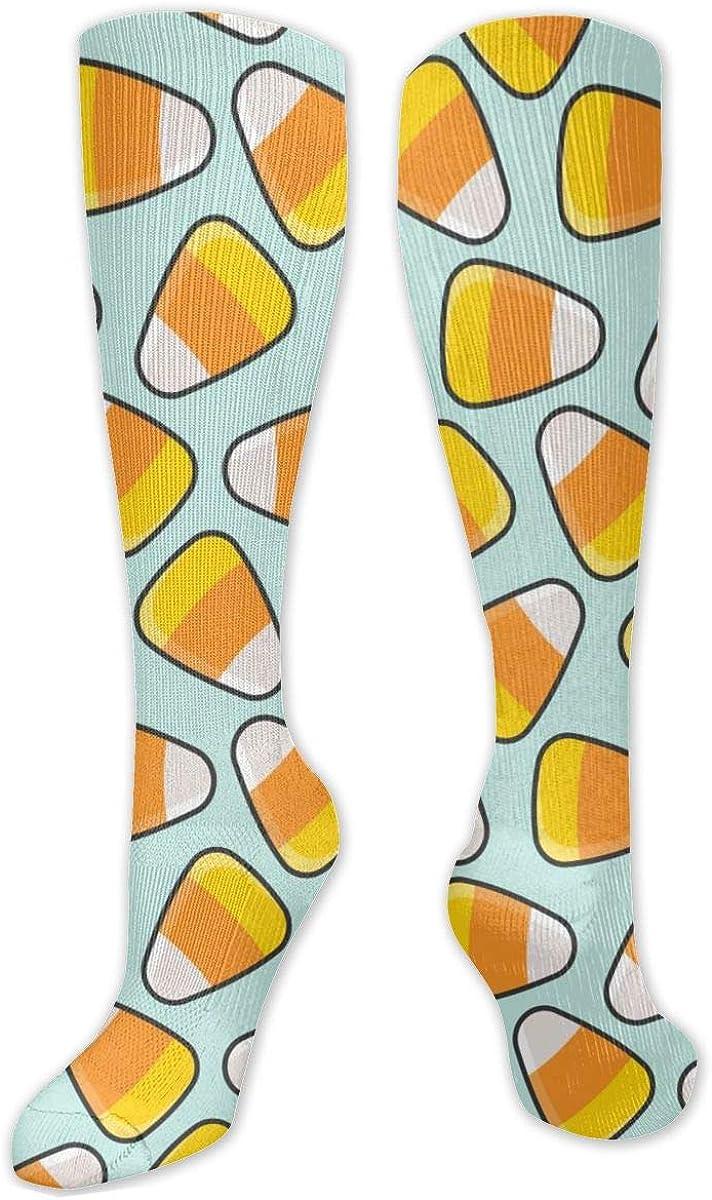 Sweet Pattern Knee High Socks Leg Warmer Dresses Long Boot Stockings For Womens Cosplay Daily Wear