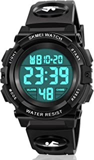 Kids Digital Watch,Boys Sports Waterproof Led Watches with Alarm,Wrist Watch for Boys Girls Childrens, Best Gifts for Boys