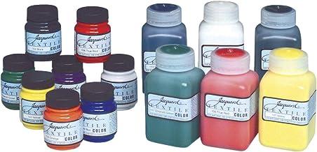 Jacquard JAC1000 Textile Color Primary & Secondary 8 Colour Set Acrylic Paint, Pack of 8