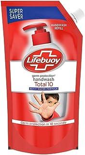 Lifebuoy Total 10 Activ Naturol Germ Protection Handwash Refill, 750 ml