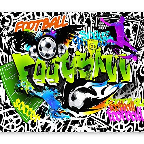 murando Fototapete 400x280 cm Vlies Tapeten Wandtapete XXL Moderne Wanddeko Design Wand Dekoration Wohnzimmer Schlafzimmer Büro Flur Graffiti i-A-0111-a-b