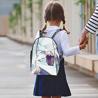 Cute Bookbag School College Small Backpack Travel Bag Daypack for Boy Girl Pylon