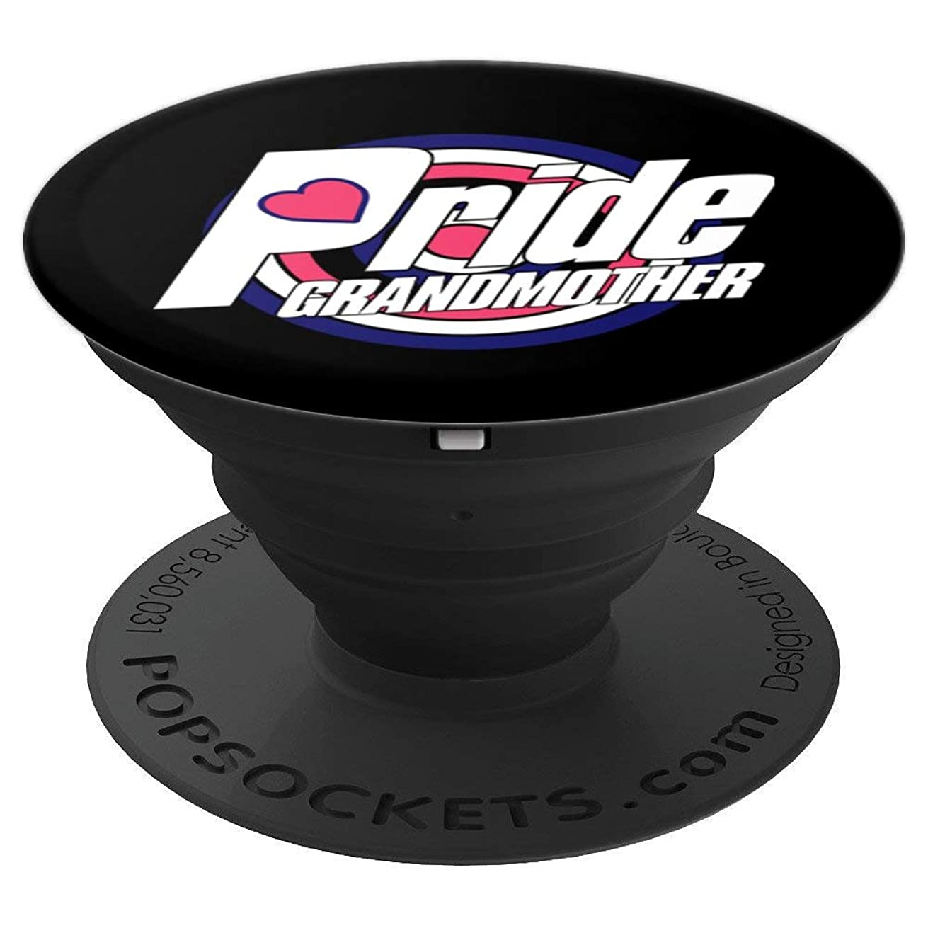 Leather BDSM Grandma LGBTQ Gay Pride Week Gifts PopSockets Grip and Stand for Phones and Tablets