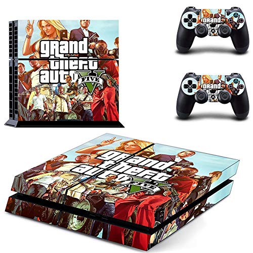 Grand Theft Auto Gta 5 Ps4 Sticker Play Station 4 Skin Ps 4 Sticker Decal Cover per Playstation 4 Ps4 Console e controller Skins