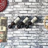 Z&HAO Klempner Halter Hängende Weinregal Display Ständer Becher Rotwein Inverted Rack,002