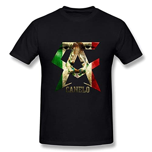Pusadd Funny Mens Classic Canelo Alvarez Generic T-Shirt Personalized Tee