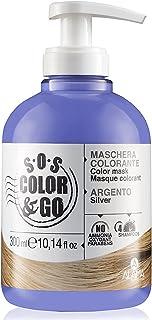Alama Professional S.O.S. COLOR & GO Maschera Argento per capelli naturali, colorati e con mèches - 300 ml
