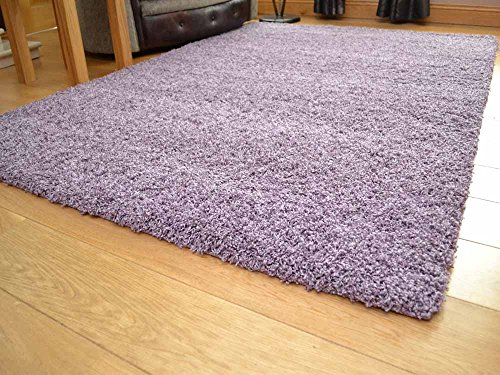 Soft Touch Shaggy Heather Thick Luxurious Soft 5 cm Dense Pile Rug. Available in 7 sizes (120 cm x 170 cm)