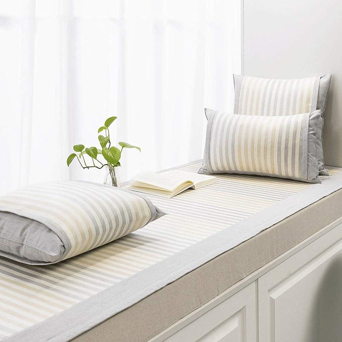有益なディスカウント次出窓クッション/出窓毛布/バルコニーマット/滑り止め畳のクッション/フロート窓マット/複数の色と複数のサイズ (Color : H, Size : 80×180CM)