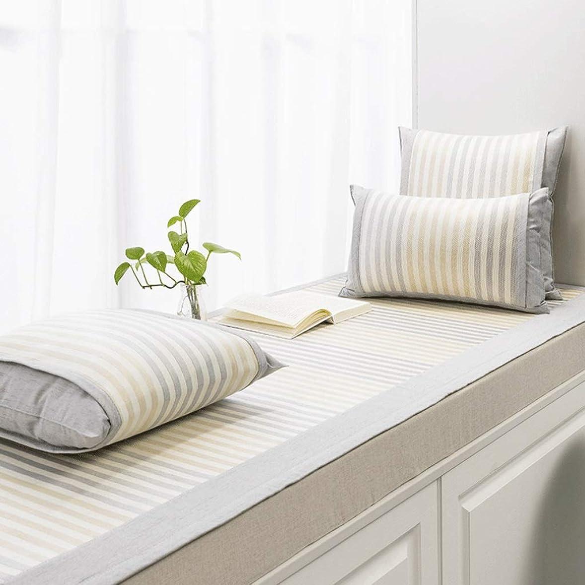 現実的睡眠ネクタイ出窓クッション/出窓毛布/バルコニーマット/滑り止め畳のクッション/フロート窓マット/複数の色と複数のサイズ (Color : H, Size : 80×140CM)