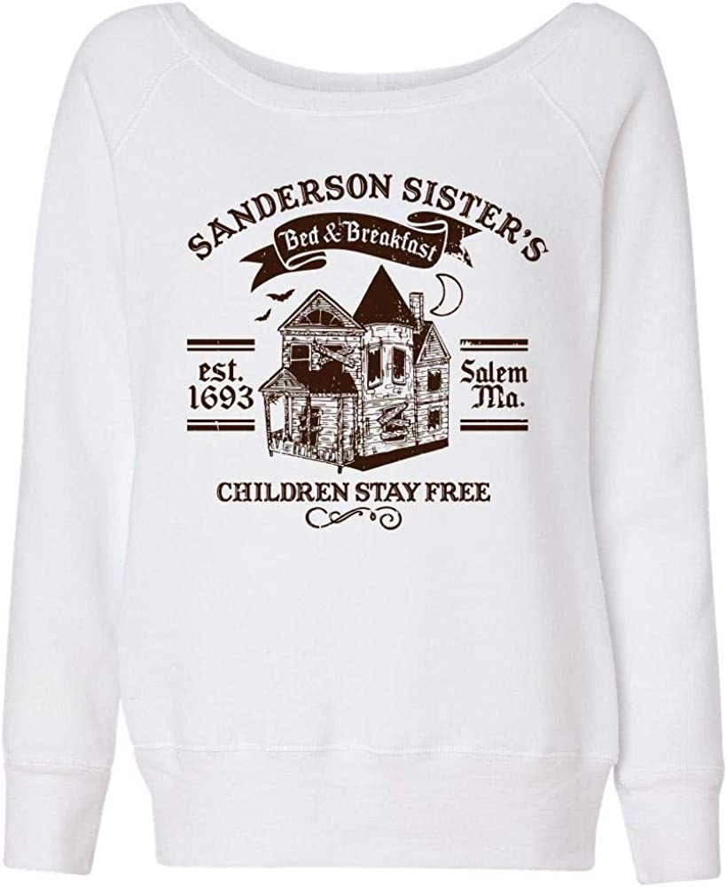 TeesAndTankYou Sanderson Sisters Excellent Bed Swea and Breakfast Wideneck Los Angeles Mall