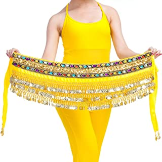 Inlefen One Size Fit All Best Women's Belly Dance Hip Scarf Waistband Belt