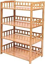 Multifunctional Kitchen Storage Rack Storage Shelf 2,3,4-Tier Kitchen Pot Rack Microwave Oven Utensils Floor-Standing Mult...
