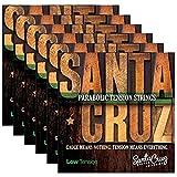 Santa Cruz Parabolic Tension Acoustic Guitar Strings Low Ten (6 Pack)