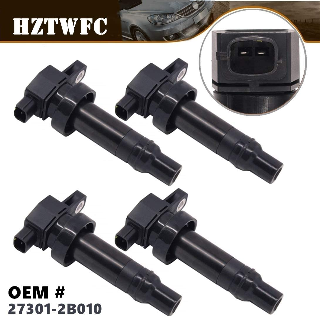 HZTWFC 4 Pack Ignition Coil Compatible Weekly update Accent i20 for Hyundai i3 Long Beach Mall
