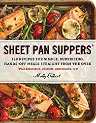 Sheet Pan Suppers - A whole book of one pan meals like this!