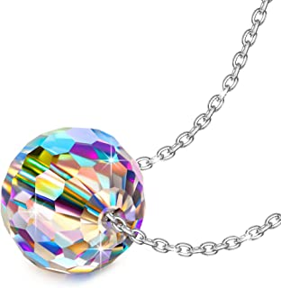 NINASUN Necklace Earrings 925 Sterling Silver Fantastic World Series Pendant Necklace 0.24