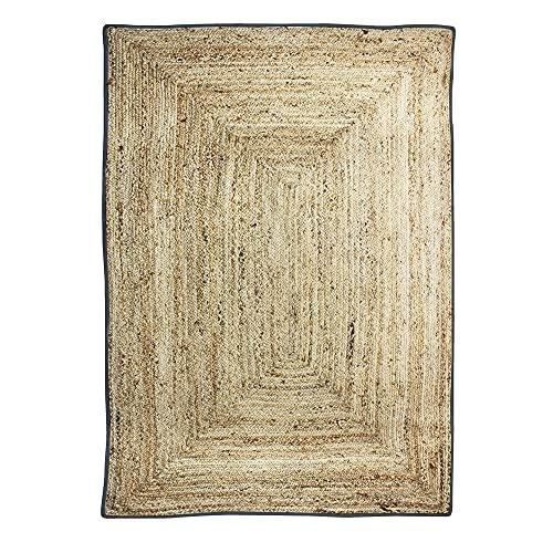 Alfombra, 160 x 230 cm, Gris Oscuro