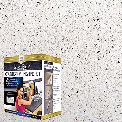 Product Image of the Daich DCT-MNS-NW Quart Spreadstone Mineral Select Countertop Refinishing Kit, Natural White