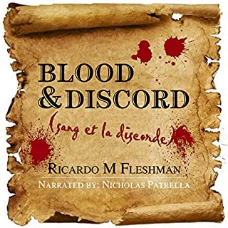 Blood and Discord audiobook cover art
