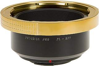 Adaptador de montura de lente Fotodiox Pro Arri PL de montura de lente de a Micro 4/3 adaptador de batería para cámara de vídeo compatible con Olympus bolígrafo E-PL1 E-PL1s E-PL2 E-PL3 E-P2 E-P3 E-M OM-D E-M5 Panasonic Lumix DMC-G1 G2 G3 G10 GX1 GH1 GH2 GF1 GF2 GF3 GF5 Panasonic AG-AF100 compatible con todas las Zeiss Cooke y otros
