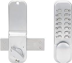 Fechadura de porta sem chave, fechadura de entrada de senha Digitals Conjunto de fechadura de porta com senha mecânica Fec...