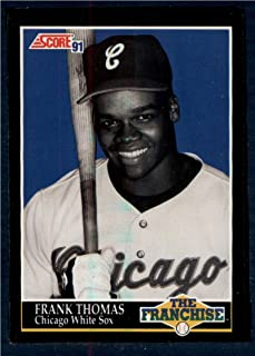 1991 Score #874 Frank Thomas FRAN NM-MT White Sox Baseball