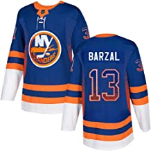 FranklinSports New York Islanders #13 MathewBarzal Blue Limited Jersey for Men for Youth