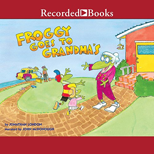 Froggy Goes to Grandma's audiobook cover art