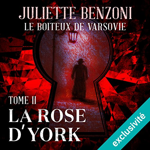 Couverture de La rose d'York (Le boiteux de Varsovie 2)