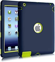 iPad 2/3 / 4 Case, Hocase Rugged Slim Shockproof Silicone Protective Case Cover for 9.7..