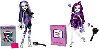 Strong Economy Monster High Picture Day Spectra Vondergeist Doll and Ghouls Night Out Spectra Vondergeist Doll Gift Bundle