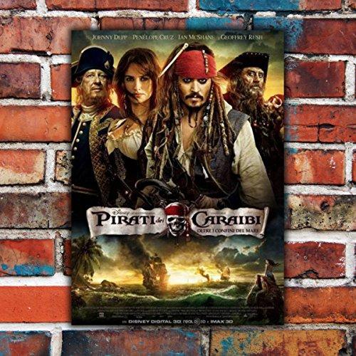 GoPoster Poster Cinema I Pirati Dei Caraibi Oltre Il Confini Del Mare - 70x100 CM